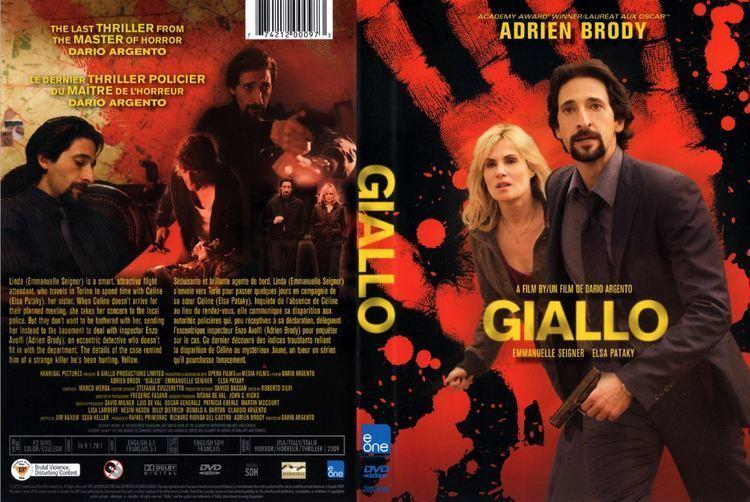 Giallo (film) COVERSBOXSK giallo 2009 high quality DVD Blueray Movie