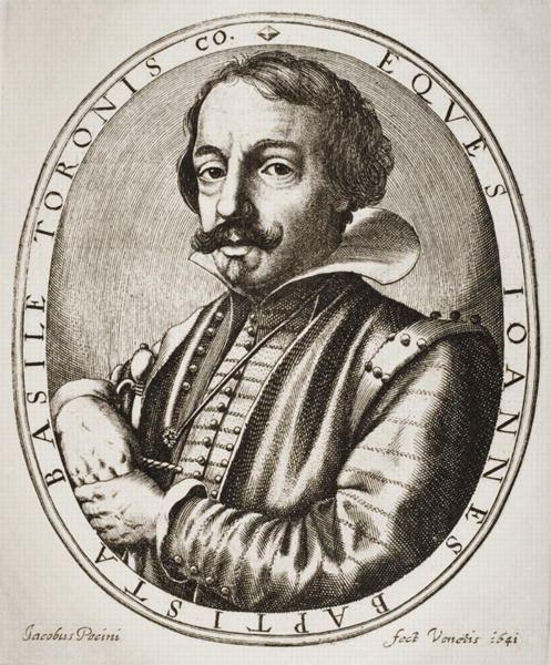 Giambattista Basile Giambattista Basile engraved by Nicolaus Perrey