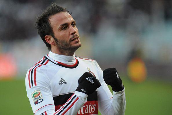 Giampaolo Pazzini Giampaolo Pazzini Pictures Torino FC v AC Milan Serie