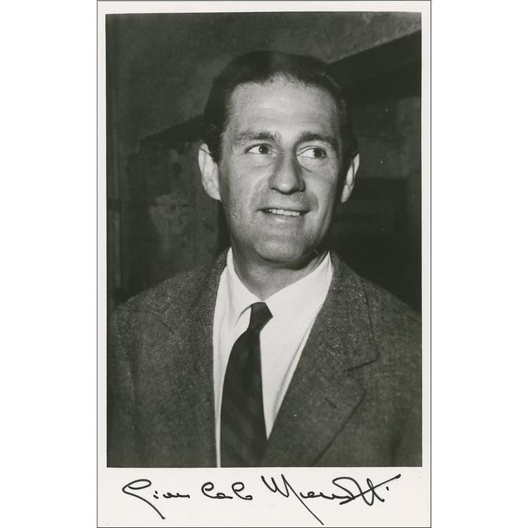 Samuel Barber Gian Carlo Menotti