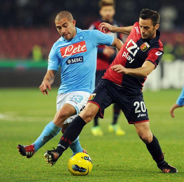 Giandomenico Mesto Giandomenico Mesto Photos SSC Napoli v Genoa CFC Serie