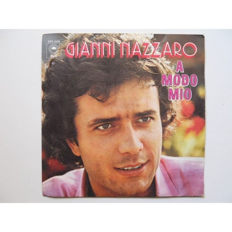 Gianni Nazzaro A modo mio by GIANNI NAZZARO SP with platine Ref115115635