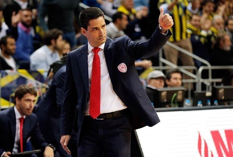 Ioannis Sfairopoulos Fenerbahce Ulker Istanbul vs Olympiacos Piraeus Game