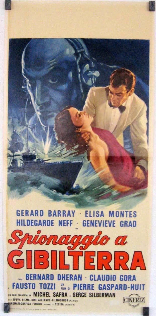 Gibraltar (1964 film) wwwbenitomoviepostercomcatalogimagesmoviepost