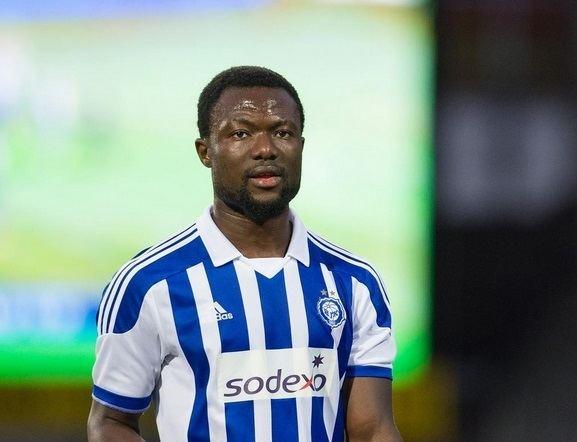 Gideon Baah Gideon Baah reaches 50th Finnish Premier League cap with