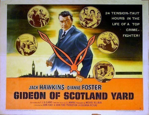 Gideon's Day (film) Gideon of Scotland Yard Gideon s Day 1958 DVD Jack Hawkins