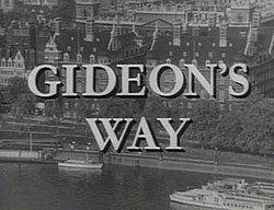 Gideon's Way httpsuploadwikimediaorgwikipediaenthumbe