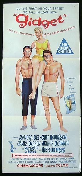 Gidget (film) Gidget Bringing the Surf Culture to Mainstream Comet Over Hollywood