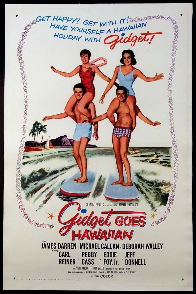 Gidget Goes Hawaiian GIDGET GOES HAWAIIAN Movie Poster 1963 Movie Posters Lobby