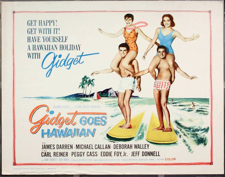 Gidget Goes Hawaiian Gidget Goes Hawaiian 1961 Beach Party Movies