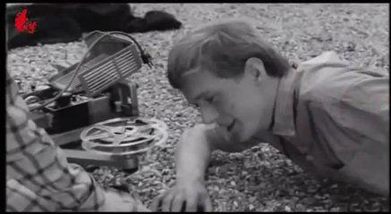 Gift (1966 film) starring Soren Stromberg lying face down in a scene