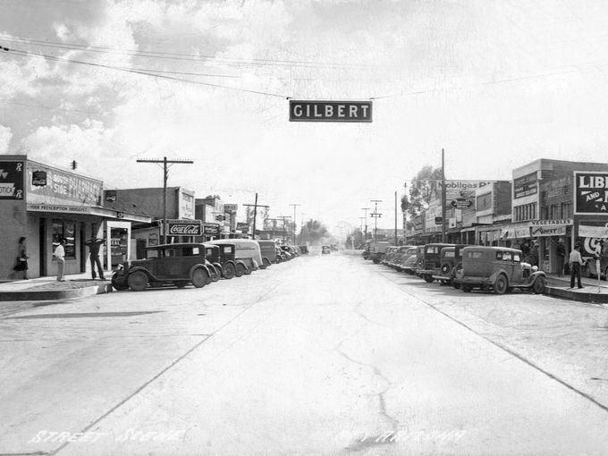 Gilbert, Arizona in the past, History of Gilbert, Arizona