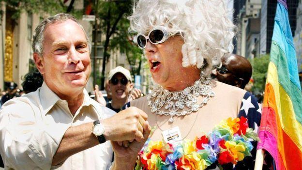 Gilbert Baker (artist) Gilbert Baker LGBT rainbow flag creator dies aged 65 BBC News