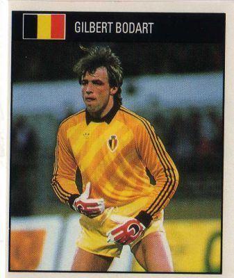 Gilbert Bodart BELGIUM Gilbert Bodart 243 ORBIS 1990 World Cup
