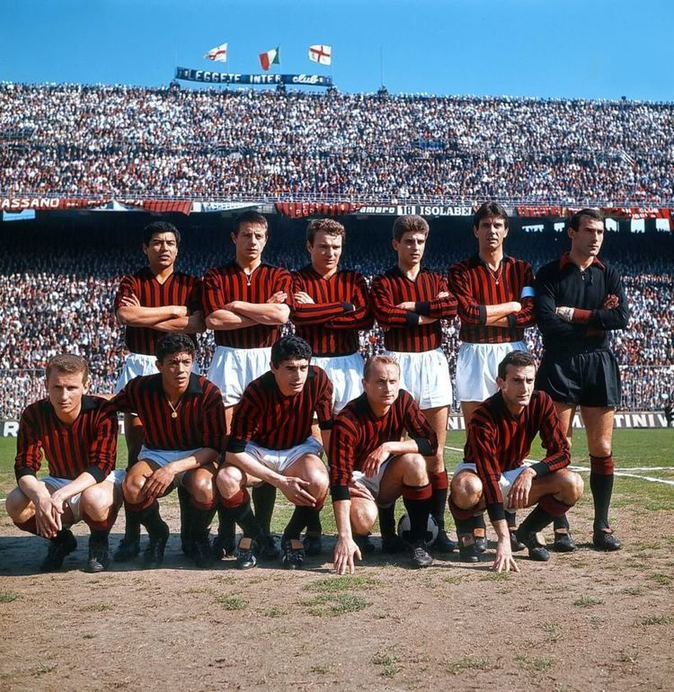Gilberto Noletti 1964 AC Milan Vctor Bentez Gilberto Noletti Jos Altafini
