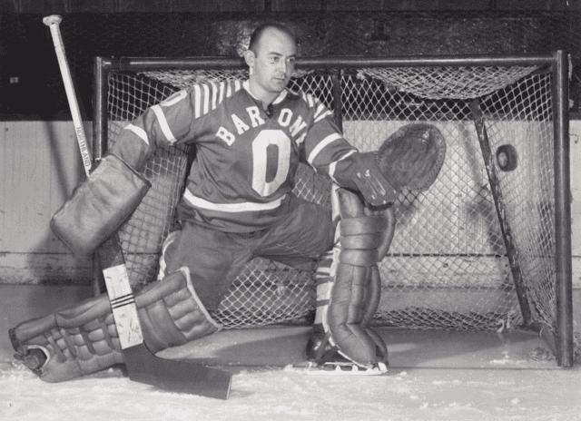 Gilles Mayer Gilles Mayer 1959 Cleveland Barons HockeyGods
