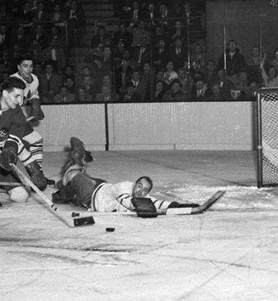Gilles Mayer Toronto Maple Leafs goaltending history Gilles Mayer