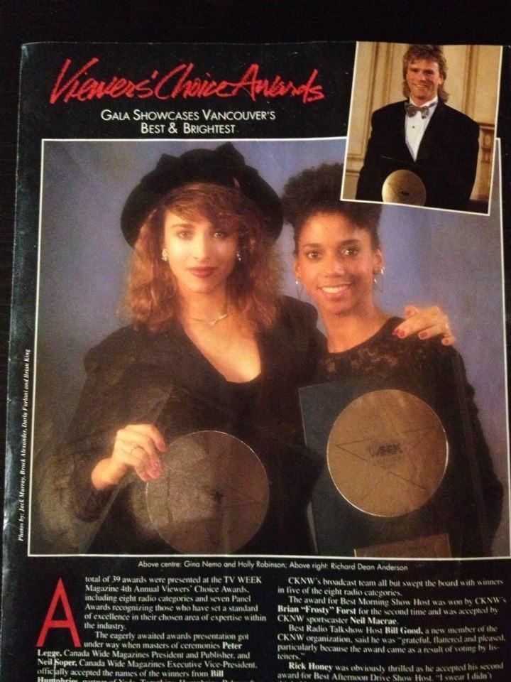Gina Nemo Gina Nemo Peter DeLuise at Emmy Awards circa late 80s GINA