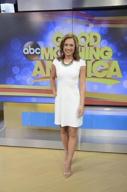 Ginger Zee Charitybuzz 4 VIP tickets to Good Morning America and