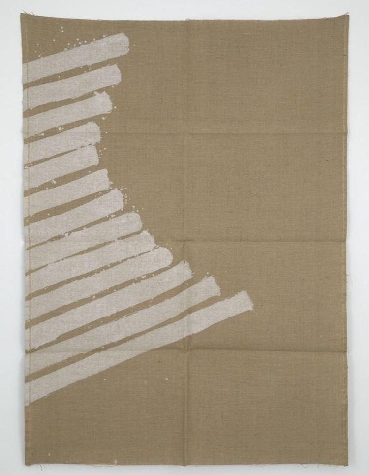Giorgio Griffa Fragments 1968 2012 Casey Kaplan