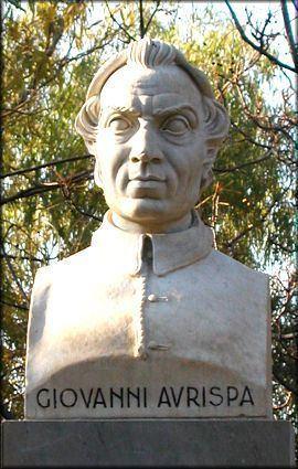 Giovanni Aurispa Chi era Costui Scheda di Giovanni Aurispa