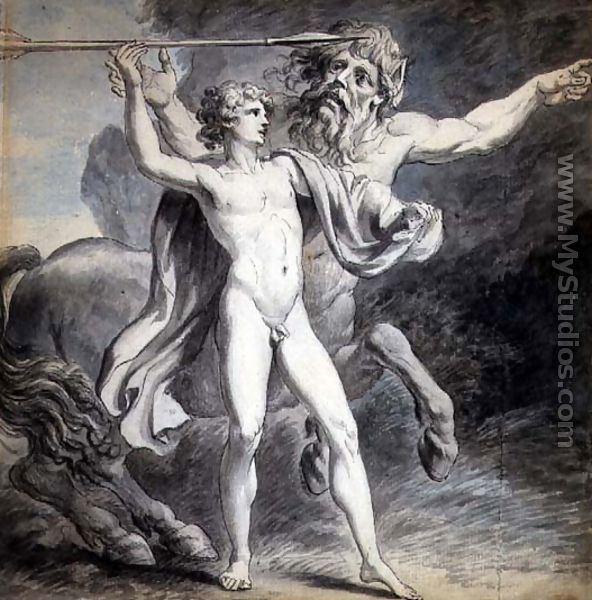 Giovanni Battista Cipriani The Education of Achilles 1776 by Giovanni Battista