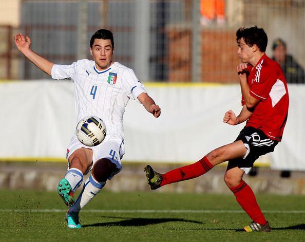 Giovanni Sbrissa Giovanni Sbrissa Photos Italy U19 v Albania U19 Zimbio