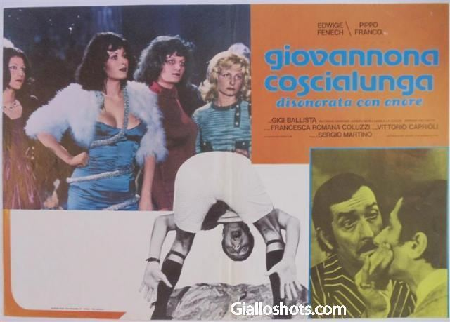 Giovannona Long-Thigh Sergio Martino Giallo Shots