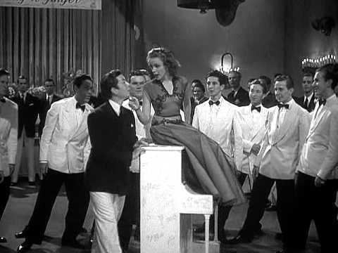 Girl Crazy (1943 film) Judy Garland Embraceable You Girl Crazy 1943 YouTube