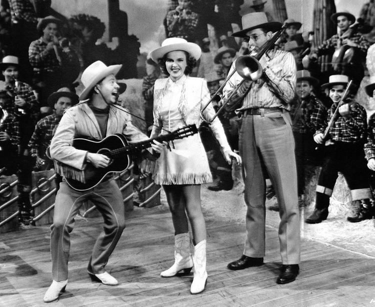 Girl Crazy (1943 film) Mickey Rooney Judy Garland and Tommy Dorsey in Girl Crazy 1943