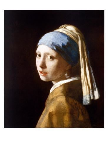 Girl with a Pearl Earring Girl with a Pearl Earring Prints by Jan Vermeer at AllPosterscom