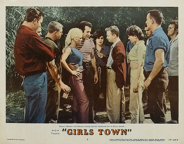 Girls Town Movie Madness andor Mania Girls Town Charles F Haas 1959