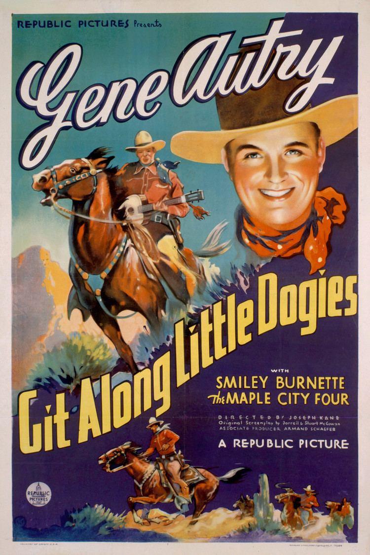 Git Along Little Dogies (film) wwwgstaticcomtvthumbmovieposters43961p43961