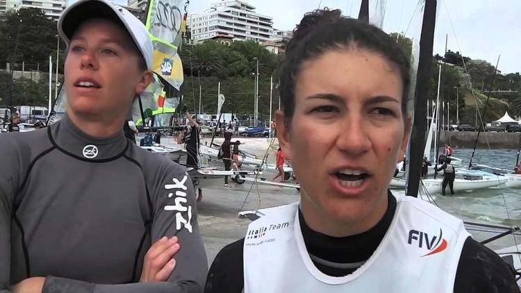 Giulia Conti Sailing ISAF Worlds Giulia Conti e Francesca Clapcich FX YouTube