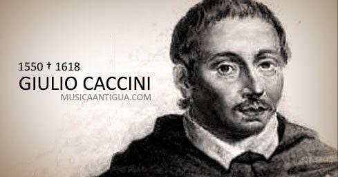 Giulio Caccini Giulio Caccini uno de los compositores ms sobresalientes