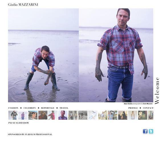 Giulio Mazzarini Flash Webdesign Giulio Mazzarini Photographer NXMD Graphic and