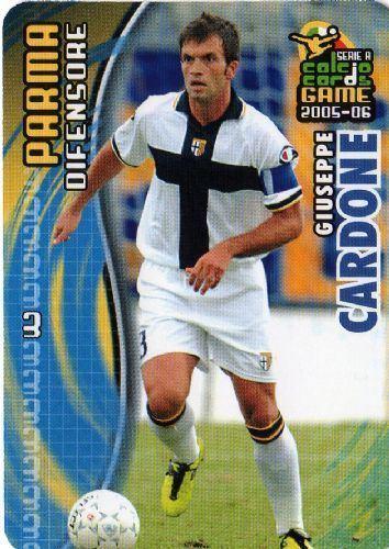 Giuseppe Cardone PARMA Giuseppe Cardone 133 PANINI 200506 Calcio Italian