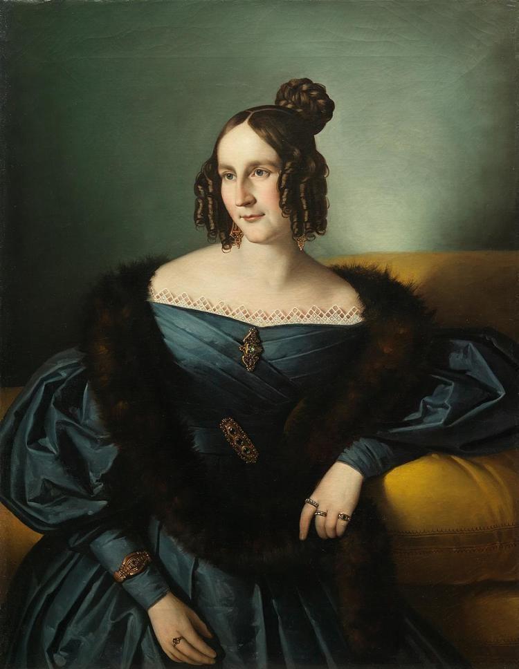 Giuseppe Tominz Giuseppe Tominz ritratto di giovane dama Antiquariato su