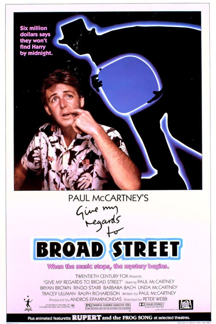 Give My Regards to Broad Street (film) wwwgstaticcomtvthumbmovieposters8516p8516p