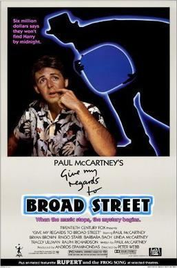 Give My Regards to Broad Street (film) Give My Regards to Broad Street film Wikipedia
