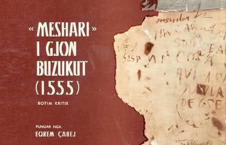 Gjon Buzuku Gjon BUZUKU Meshari 1555 Shkodernet EN