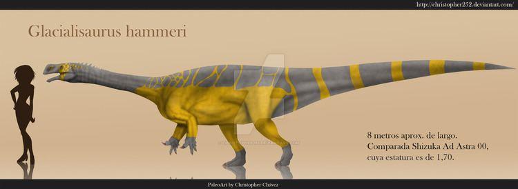 Glacialisaurus Glacialisaurus hammeri by Christopher252 on DeviantArt