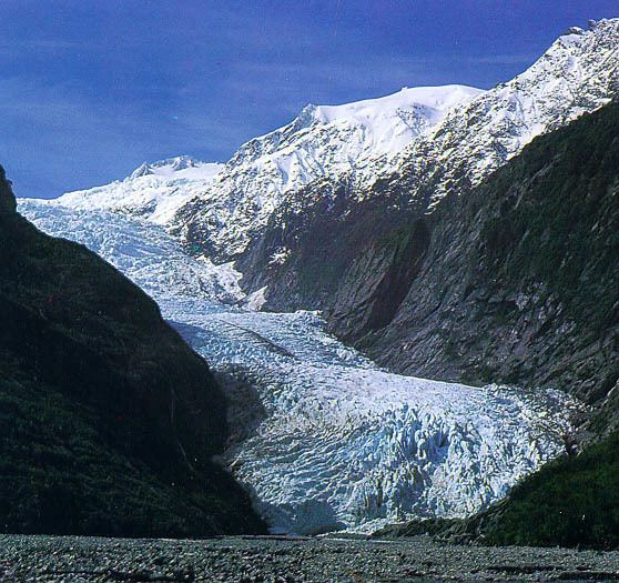 Glaciers of New Zealand