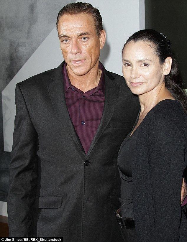 Gladys Portugues JeanClaude Van Damme says divorce is OFF with Gladys