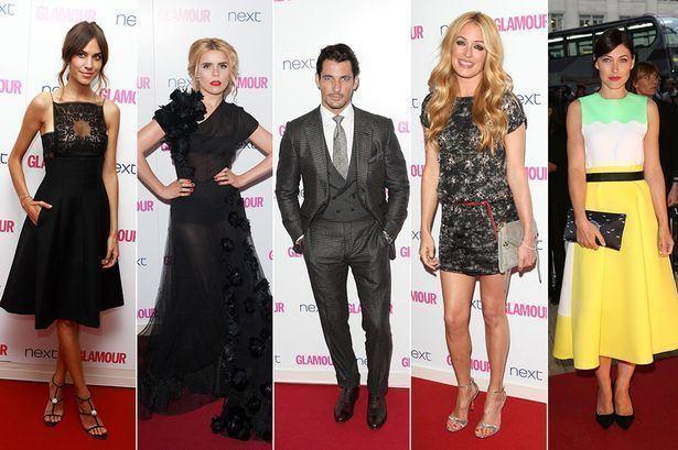 Glamour Awards Glamour Awards 2014 Best dressed celebs Paloma Faith Little Mix