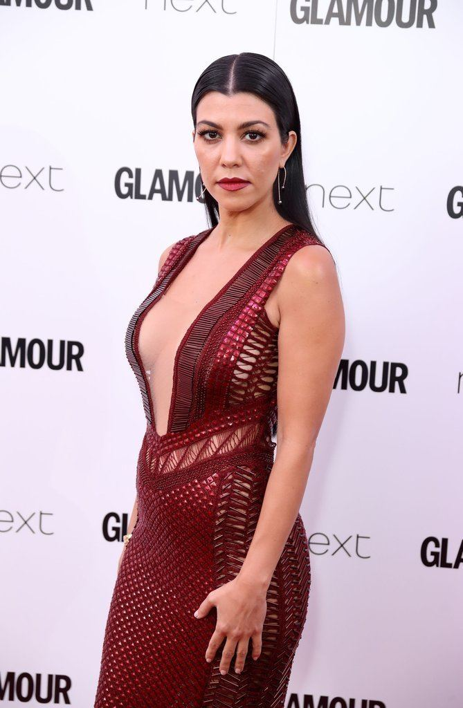 Glamour Awards Kourtney Kardashian at Glamour Women of the Year Awards 2016