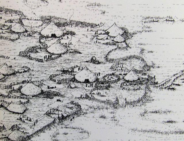 Glastonbury Lake Village Glastonbury amp Meare Iron Age Lake Villages Flickr