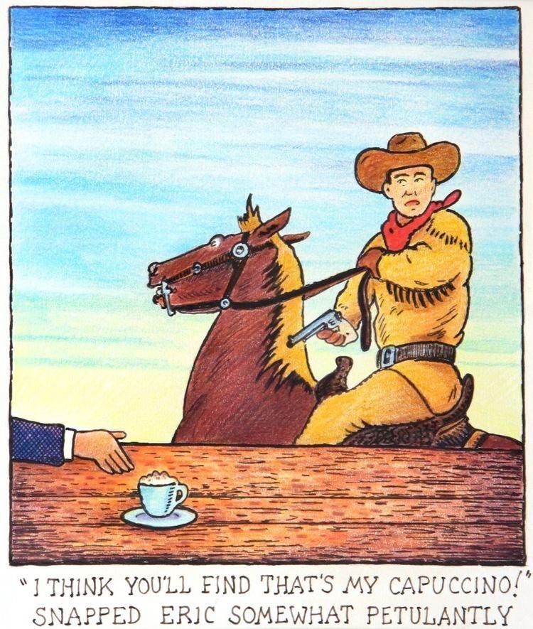 Glen Baxter (cartoonist) Cartoons GLEN BAXTER Born 1944 Chris Beetles