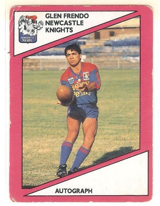 Glen Frendo Scanlens 1988 133 Glen Frendo Newcastle Knights 525 Find