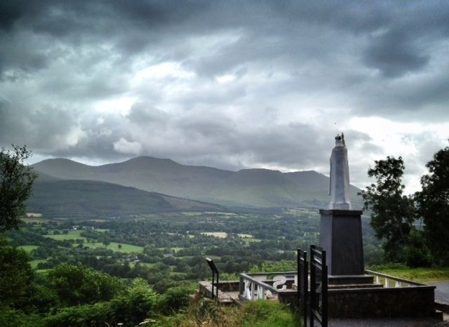 Glen of Aherlow Enjoy the View from the Christ the King Statue Glen of Aherlow Co